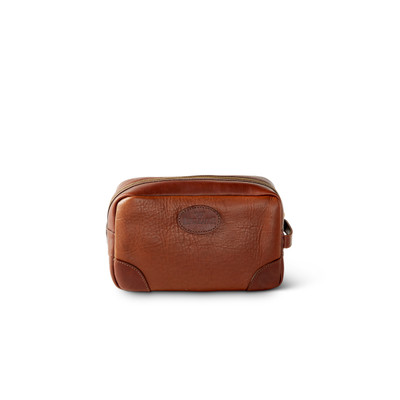 d43ad9e29122 Leather Dopp Kit   Shave Cases - King Ranch Saddle Shop